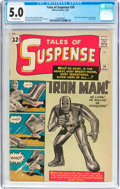 Silver Age (1956-1969):Superhero, Tales of Suspense #39 (Marvel, 1963) CGC VG/FN 5.0 Off-whitepages....