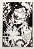 Original Comic Art:Covers, Bo Hampton Greylore #2 Cover Original Art (Sirius Comics,1986)....
