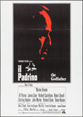 "Movie Posters:Crime, The Godfather (Paramount, 1972). Italian 2 - Fogli (39"" X 55"").Crime.. ..."