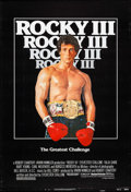 "Movie Posters:Sports, Rocky III & Others Lot (United Artists, 1982). One Sheets (4) (27"" X 40""), Commercial Poster (23"" X 35""), & Mini Posters (3)... (Total: 8 Items)"