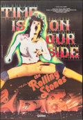 """Movie Posters:Rock and Roll, Rolling Stones: Time is on Our Side (Gaumont, 1983). Italian 2 -Fogli (37.75"""" X 55""""). Rock and Roll.. ..."""