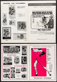"""My Fair Lady & Others Lot (Warner Brothers, 1964). Pressbooks (49) (Multiple Pages, """"8.5"""" X 11"""" -..."""