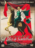 "Movie Posters:Foreign, The Adventures of Gil Blas (Les Films Fernand Rivers, 1955). French Grande (45.75"" X 63""). Foreign.. ..."