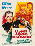 """Movie Posters:Drama, The Left Hand of God (20th Century Fox, 1956). French Grande (47"""" X 63""""). Drama.. ..."""