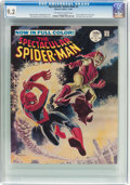 Magazines:Superhero, Spectacular Spider-Man #2 (Marvel, 1968) CGC NM- 9.2 Off-white towhite pages....