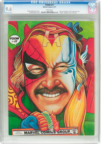 Foom #17 (Marvel, 1977) CGC NM+ 9.6 White pages