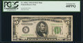 Fr. 1956-C $5 1934 Mule Federal Reserve Note. PCGS Extremely Fine 40PPQ