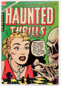 Golden Age (1938-1955):Horror, Haunted Thrills #16 (Farrell, 1954) Condition: FN....