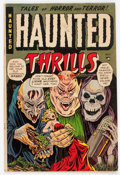 Golden Age (1938-1955):Horror, Haunted Thrills #11 (Farrell, 1953) Condition: VG/FN....