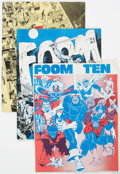 Magazines:Superhero, Foom Group of 8 (Marvel, 1975-78) Condition: Average FN/VF....(Total: 8 Comic Books)