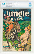 Golden Age (1938-1955):Adventure, Jungle Comics #89 (Fiction House, 1947) CBCS VF- 7.5 Off-white to white pages....