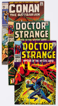 Bronze Age (1970-1979):Adventure, Conan the Barbarian/Doctor Strange Group of 24 (Marvel, 1968-73) Condition: Average VG/FN.... (Total: 24 Comic Books)