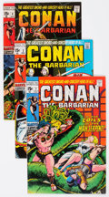 Bronze Age (1970-1979):Adventure, Conan the Barbarian Group of 5 (Marvel, 1970-71) Condition: Average VF/NM.... (Total: 5 Comic Books)