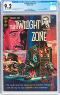 Silver Age (1956-1969):Horror, Twilight Zone #13 (Gold Key, 1965) CGC NM- 9.2 Off-white to whitepages....
