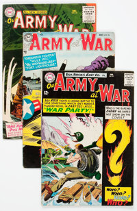 Our Army at War Group of 28 (DC, 1954-79) Condition: Average GD.... (Total: 28 Comic Books)