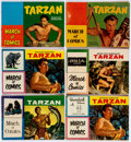 Golden Age (1938-1955):Miscellaneous, March of Comics - Tarzan Group of 19 (K. K. Publications, Inc., 1953-71) Condition: Average VG.... (Total: 19 Comic Books)