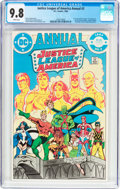 Modern Age (1980-Present):Superhero, Justice League of America Annual #2 (DC, 1984) CGC NM/MT 9.8 Whitepages....