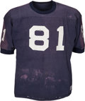 Football Collectibles:Uniforms, 1966 Alan Page Game Worn Notre Dame Fighting Irish Jersey....