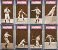 Baseball Cards:Sets, 1907 PC765-2 Dietsche Chicago Cubs Complete Set (15) - #1 on the PSA Set Registry! ...