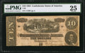 Confederate Notes:1864 Issues, Advertising Note The Old Book Store Atlanta, GA T68 $10 1864 PF-1 Cr. 450. . ...