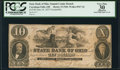 Obsoletes By State:Ohio, Cuyahoga Falls, OH- State Bank of Ohio, Summit County BranchCounterfeit $10 June 18, 1857 C560 . ...