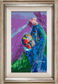 Golf Collectibles:Art, 1974 Arnold Palmer Original Painting by LeRoy Neiman....