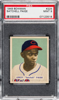 Baseball Cards:Singles (1940-1949), 1949 Bowman Satchell Paige #224 PSA Mint 9....