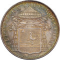 Italy:Papal States, Italy: Papal States. Sede Vacante Scudo 1830-B MS66 NGC,...