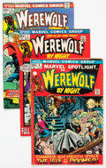 Bronze Age (1970-1979):Horror, Werewolf by Night Group of 17 (Marvel, 1972-74) Condition: AverageVG/FN.... (Total: 17 Comic Books)