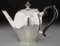Silver Holloware, American:Tea Pots, A Tiffany & Co. Silver Bullet-Shaped Teapot, New York, NewYork, circa 1907-1947. Marks: TIFFANY & CO, 17826D MAKERS9233,...