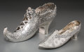 Silver Holloware, Continental, Two Hanau Silver Shoes, late 19th-early 20th century. Marks:(pseudo poincon mark), (effaced marks); 800. 3-5/8 h x 2-1/4 w ...(Total: 2 Items)