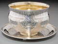 Silver Holloware, Continental, A Fine Russian Gilt Silver and Niello Bowl and Underplate, Moscow,Russia, circa 1863. Marks to bowl: BC/1863, 84, (Mosc...(Total: 2 Items)