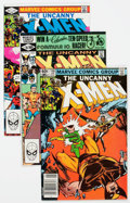 Modern Age (1980-Present):Superhero, X-Men Group of 66 (Marvel, 1981-88) Condition: Average VF+....(Total: 66 Comic Books)