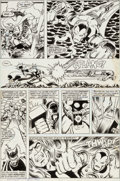 Original Comic Art:Panel Pages, George Perez and Ricardo Villamonte The Avengers Annual #8Page 44 Original Art (Marvel, 1978)....