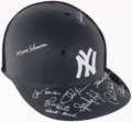 Autographs:Letters, New York Yankees Greats Signed Replica Helmet Including Skowron,Bauer, and Lyle. ...