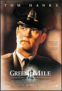 """The Green Mile (Warner Brothers, 1999). One Sheets (8) Identical (27"""" X 40"""") DS Advance. Crime. ... (Total: 8..."""