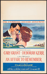 "An Affair to Remember (20th Century Fox, 1957). Window Card (14"" X 22""). Romance"