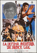 "Movie Posters:Action, Bruce Lee: The Man, The Myth & Other Lot (ACE, 1978). SpanishOne Sheet (27.5"" X 38"") & Argentinean Video Poster (25.25"" X3... (Total: 2 Items)"