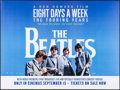 """Movie Posters:Rock and Roll, The Beatles: Eight Days a Week (StudioCanal, 2016). British Quad (30"""" X 40""""). Rock and Roll.. ..."""