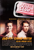 "Movie Posters:Action, Fight Club & Other Lot (20th Century Fox, 1999). International One Sheet & One Sheet (27"" X 40"") DS Advance Style A. Action.... (Total: 2 Items)"