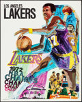 """Movie Posters:Sports, Los Angeles Lakers NBA Champs (ProMotions Inc., 1972). Posters (3) Identical (23"""" X 29""""). Sports.. ... (Total: 3 Items)"""