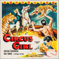 "Movie Posters:Adventure, Circus Girl (Republic, 1956). Six Sheet (79"" X 80""). Adventure....."