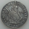 German States:Saxony, German States: Saxony. August Taler 1579-HB VF/XF - Cleaned Mounted,...