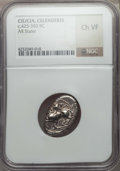 Ancients:Greek, Ancients: CILICIA. Celenderis. Ca. 425-350 BC. AR stater. NGCChoice VF....