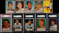 Baseball Cards:Lots, 1952 Topps Baseball Collection (202) With 32 High Numbers!...