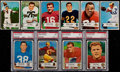 Football Cards:Sets, 1954 Bowman Football Complete Set (128)....