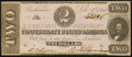 Confederate Notes:1862 Issues, T54 $2 1862 PF-11 Cr. 392 R1.. ...