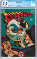 Superman #23 (DC, 1943) CGC FN/VF 7.0 White pages