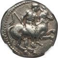 Ancients:Greek, Ancients: CILICIA. Celenderis. Ca. 410-375 BC. AR stater (9.81 gm).NGC XF 5/5 - 4/5....