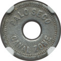 Panama:Palo Seco, Panama: Palo Seco Leper Colony 10 Cents Token ND (1919) FineDetails (Environmental Damage) NGC,...